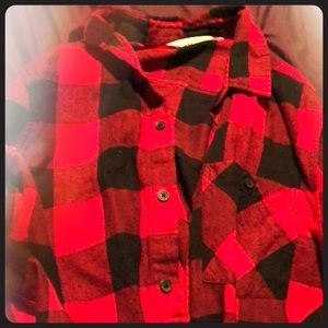 Kids Button Down Shirt size 12-13 Youth
